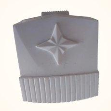 White Vintage Ring Box