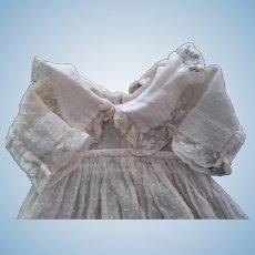 Dotted Swiss Doll Dress