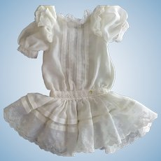 Vintage Old Style Dress For Doll