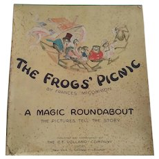 The Frog's Picnic  by Frances McCommon    Rare   Child's Game