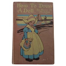 How To Dress A Doll, Book For Making Doll Clothes