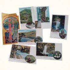 Postcards Famous Place Of Yugashima