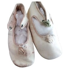 Early Child's Leather Shoes