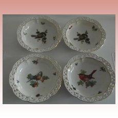 Set of Bavarian Bird Dishes