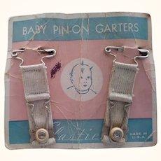 Vintage Baby Garters