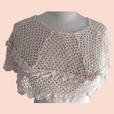 Crocheted Shoulder Cover