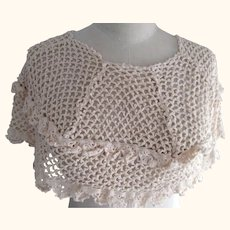 Crocheted Shoulder Cover