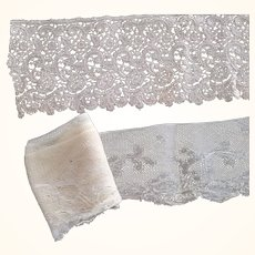 Three Antique Lengths of Fine Lace