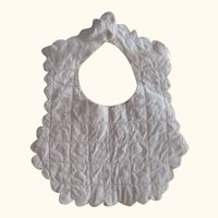 Bib  For Baby or Doll