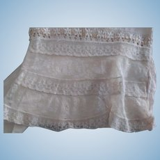 Victorian/Edwardian Remnant Good For Doll Clothes