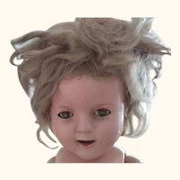 Composition Shirley Temple Doll 17""