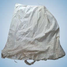 Woman's Petticoat As Is For Repurposing