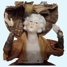 Large German Pincushion Doll