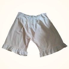 Lady's Pantaloons Need Finishing