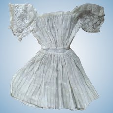 Doll Dress With Lace Sleeves