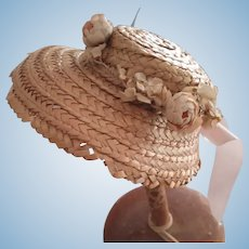 Straw Doll Hat