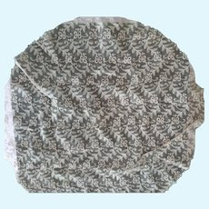 Round Tambour Lace Piece