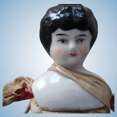 Sweet Little China Head With Floral Body