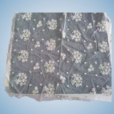 Tambour Lace Remnant