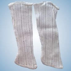 Off White Doll Stockings