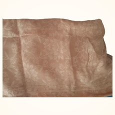 Gold/Peach Sheer  Vintage Material