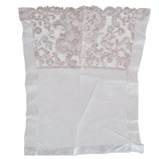 Early Tambour Lace And Tulle Piece