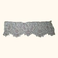 Victorian/Edwardian Tambour Lace Piece