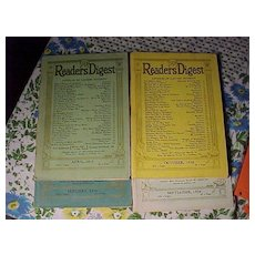 Four Old Reader's Digest - Red Tag Sale Item