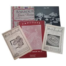 Needlework and Crochet Pamphlets