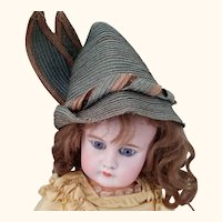 Straw Hat For Antique Doll