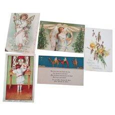 Victorian/Edwardian Christmas Post Cards
