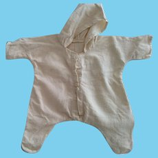 Doll's All In One Hooded Romper