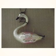 Starburst Ornament and Swan For Christmas