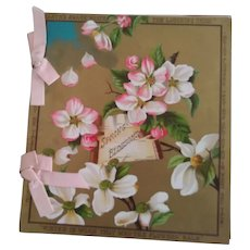 """Spring Blossoms"" Rare Edwardian Booklet"