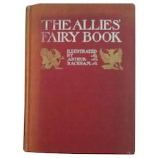 The Allies Fairy Book Arthur Rackham Illustrator