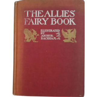 The Allies Fairy Book Arthur Rackham Illustrator
