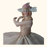 Pincushion Doll With Arms Away