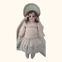 Cabinet Size Kestner WithOpen/Closed Mouth Pouty Girl