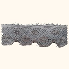 Silver Metal Lace