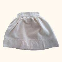 Flannel Doll Petticoat