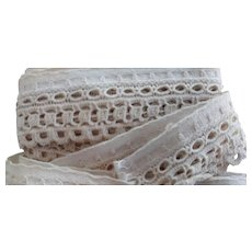Early Cotton Lace Trim