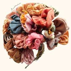Ribbon Work Bouquet