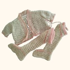 Doll Sweater and Booties