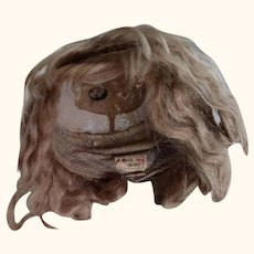 Early German Doll Wig