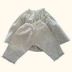 Petticoat and Pantaloon Set