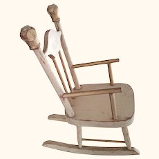 Rocking Chair For A Doll
