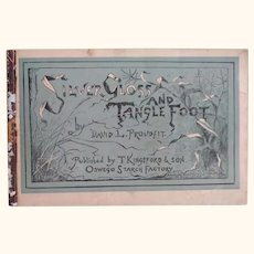 """Advertising Booklet """"Silver Gloss and Tanglefoot"""""""
