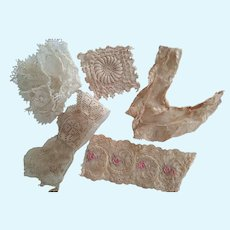 Lace Remnants For Trim