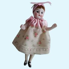 All Bisque Tiny Doll