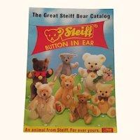 Steiff Catalog 1985